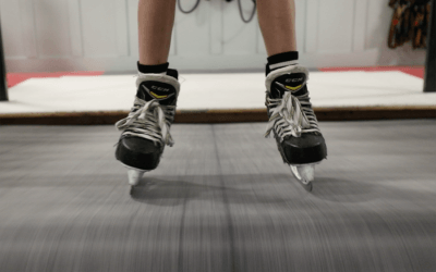 Does the skating treadmill ruin your blades?